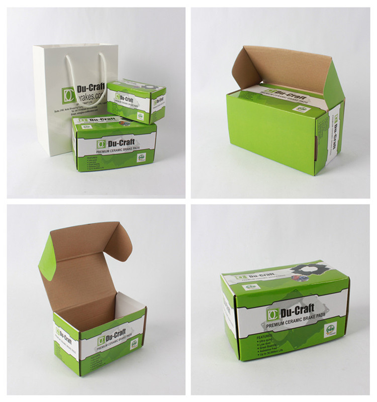 Factory Production Paper Carton Corrugated Custom Packaging Box