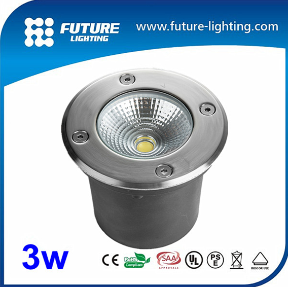 5w Stainless Steel Ip67 Cob Led Outdoor Inground Lamp