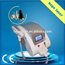 beauty salon and spa use tattoo removal laser portable yag laser machine for medical clinic