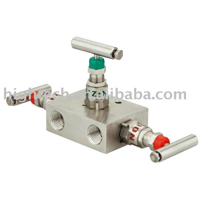 3 way equalizing valve,manifold valve
