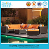All Weather Royal Wicker Sofa Garden Cane Outdoor Rattan Furniture