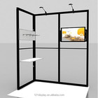 Customized Booth Customized Design Booth Small Aluminum Modular Customized Booth For Trade Shows Equipment