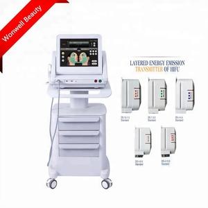 2017 High Quality Face Lift Hifu Machine Mini Ultrasound Device Hifu Facial  For Home Use
