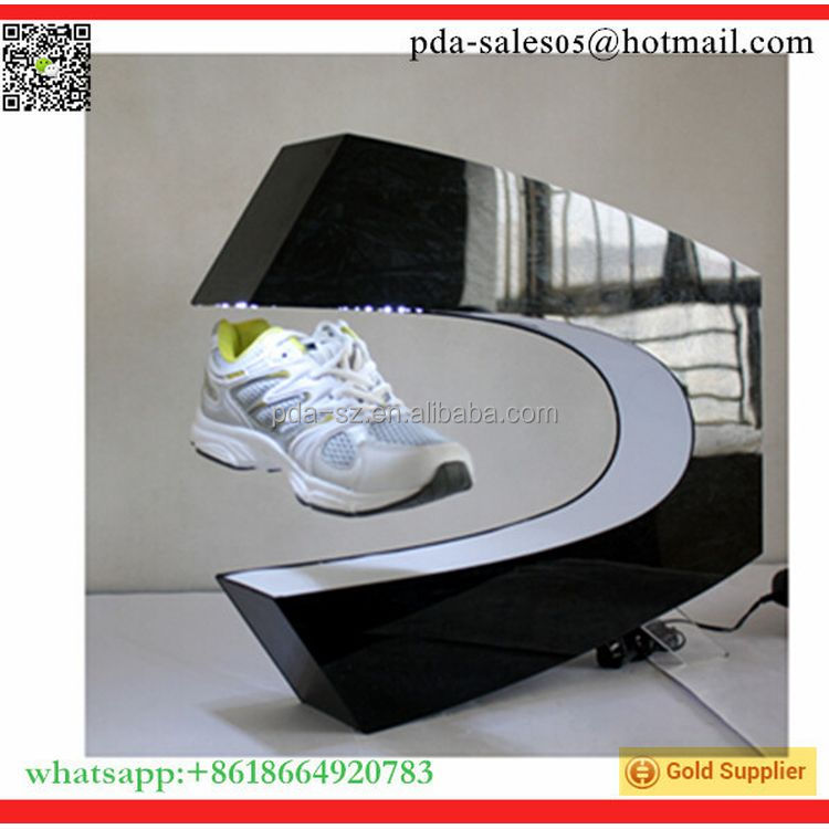 Top grade Good performance floating shoes display shelf