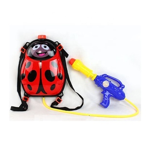 beach tube high pressure sprayer amusement park game backpack with nozzle gun water summer toys plastic