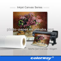 Best selling 100% polyester inkjet images for paint on canvas for indoor/outdoor