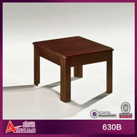 Africa cheap wood coffee table with natural stone