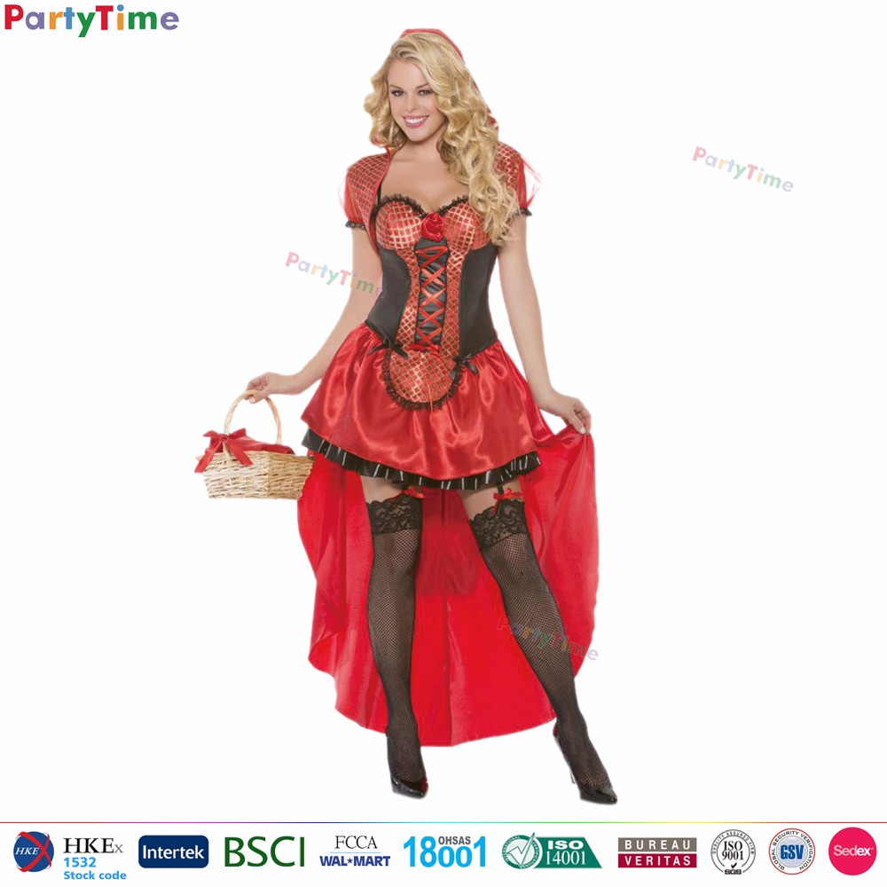 Can red riding hood cosplay are