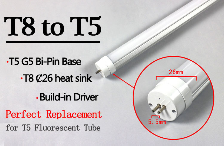 Grg 13w 900mm G5 Led T8 To T5 Fluorescent Lamp Adapter