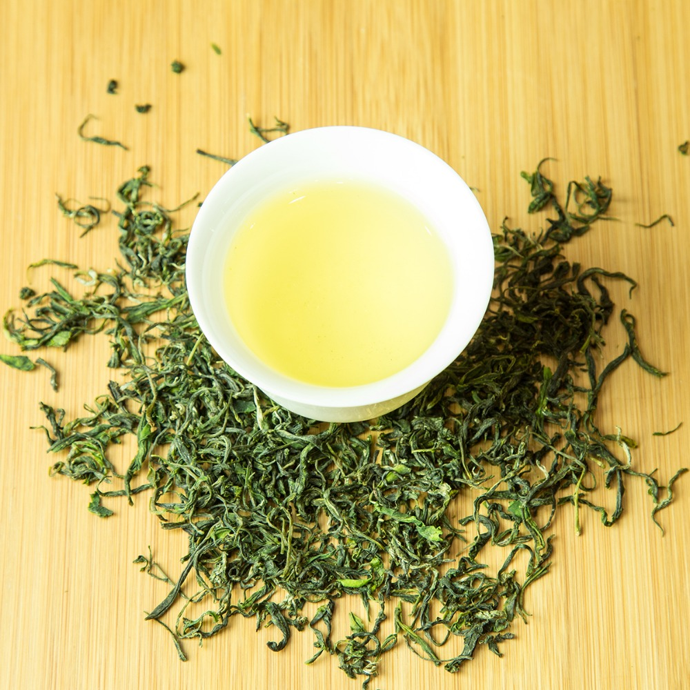 Hefeng Tea,High Mountain Baked Green Tea Chinese Green Tea Wholesale Curled Leaves OEM ODM Aavailable