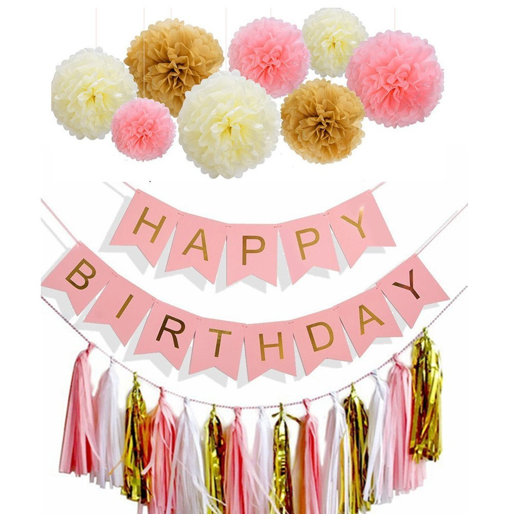 buy bigthing happy birthday banner party decorations supplies for