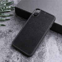 Inlay TPU+PC Custom Carbon Fiber/Leather/AP/Real Wood Blank Mobile Phone Case For iPhone For Samsung