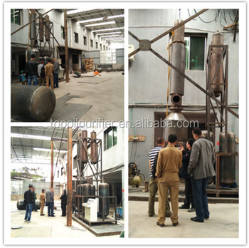Chongqing Used Motor Oil Recycling Machinesmini Diesel Refinery