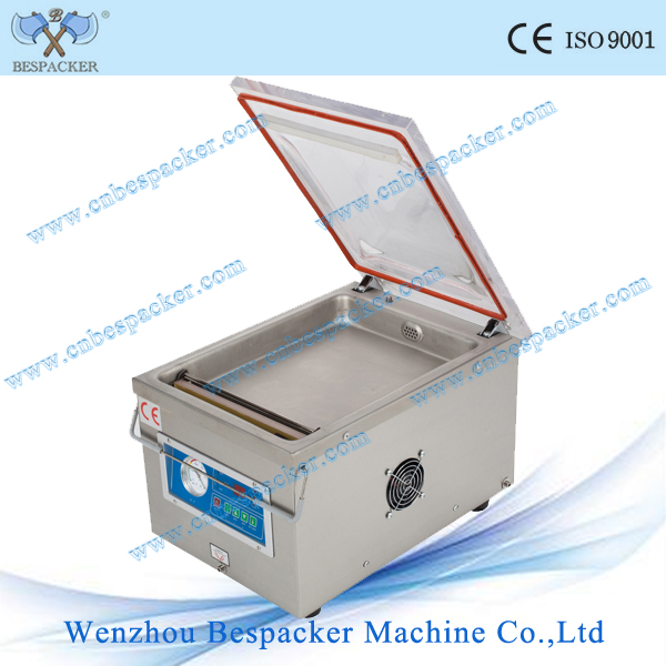 Single chamber vacuum packing machine DZ260 for sea food,salted meat,dry fish,pork,beef,rice