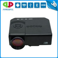 Cheapest 3D 1080P 2000 lumens portable mini LED android wifi phone digital projector