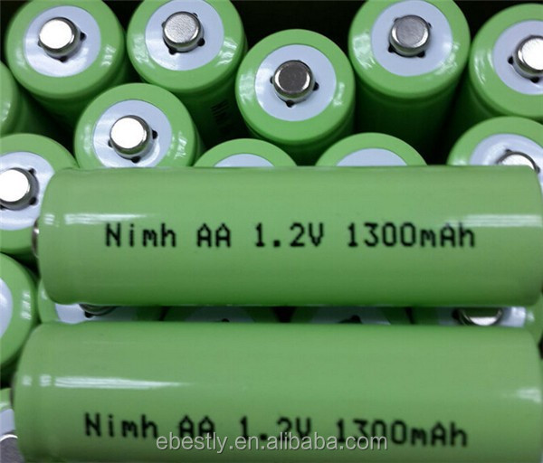 AA 1300 mAh 1.2v NiMH rechargeable battery Cell ni-mh aa 1300mah rechargeable battery 1.2v for Remote Control Toy cameras