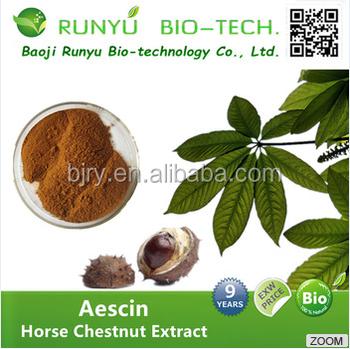 2017 100% Natural Horse Chestnut Extract 20:1/Aescigenin/Aescine/Escin/Aescin 20% 40% 98%
