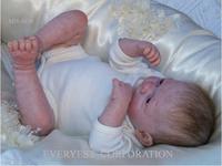 2016 silicone doll making supplies/reborn newborn baby dolls/soft silicon newborn baby doll