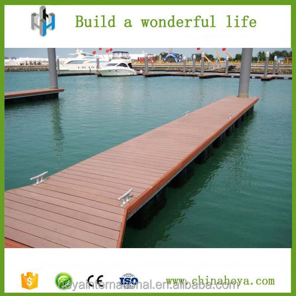 Walkway outdoor wood plastic composite decking WPC, wood composite decking