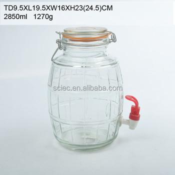 Hot Ing 10 Gallon Gl Jar