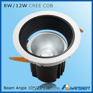 light fitting 8w IP20 5inch led down light sparkle spot light