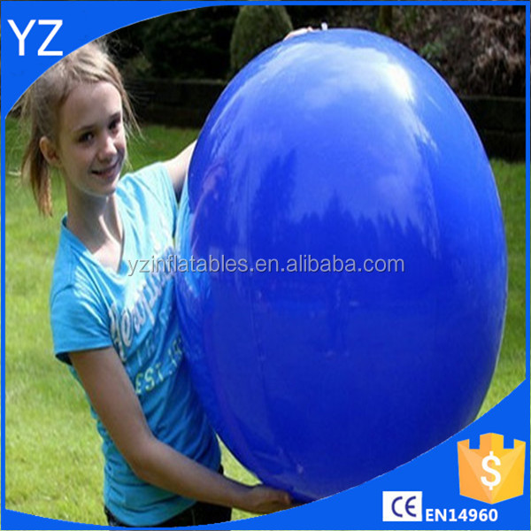 Good reputation factory price inflatable 36 inch 1 Color Dark Blue Beach Ball
