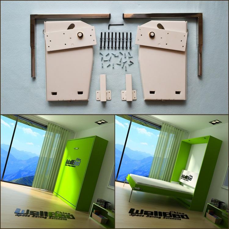 Wholesale Queen Size Wall Bed Mechanism Diy Murphy Bed
