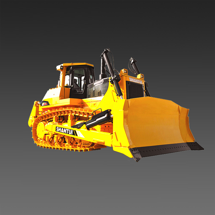 Shantui SD42 420hp big Construction เครื่อง Bulldozer