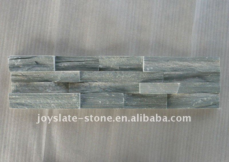 Light Grey Culture Slate Exterior Wall Cladding Tile