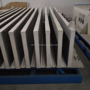 lightweight eps foam concrete partition wall panel making machine
