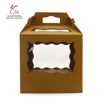 Customized Design Pop Packaging Cardboard Paper Cake Pop Box Wholesale