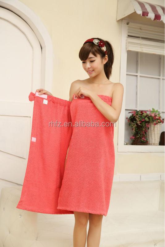 Micofiber lady wrap spa bath towel pool towel buy wrap for Bathroom dress