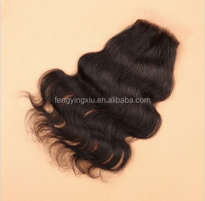 Hot Sale brazilian hair closure, golden perfect lace closure, silk base closure