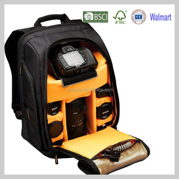 Outdoor tactical national geographic snow proof camera backpack for work