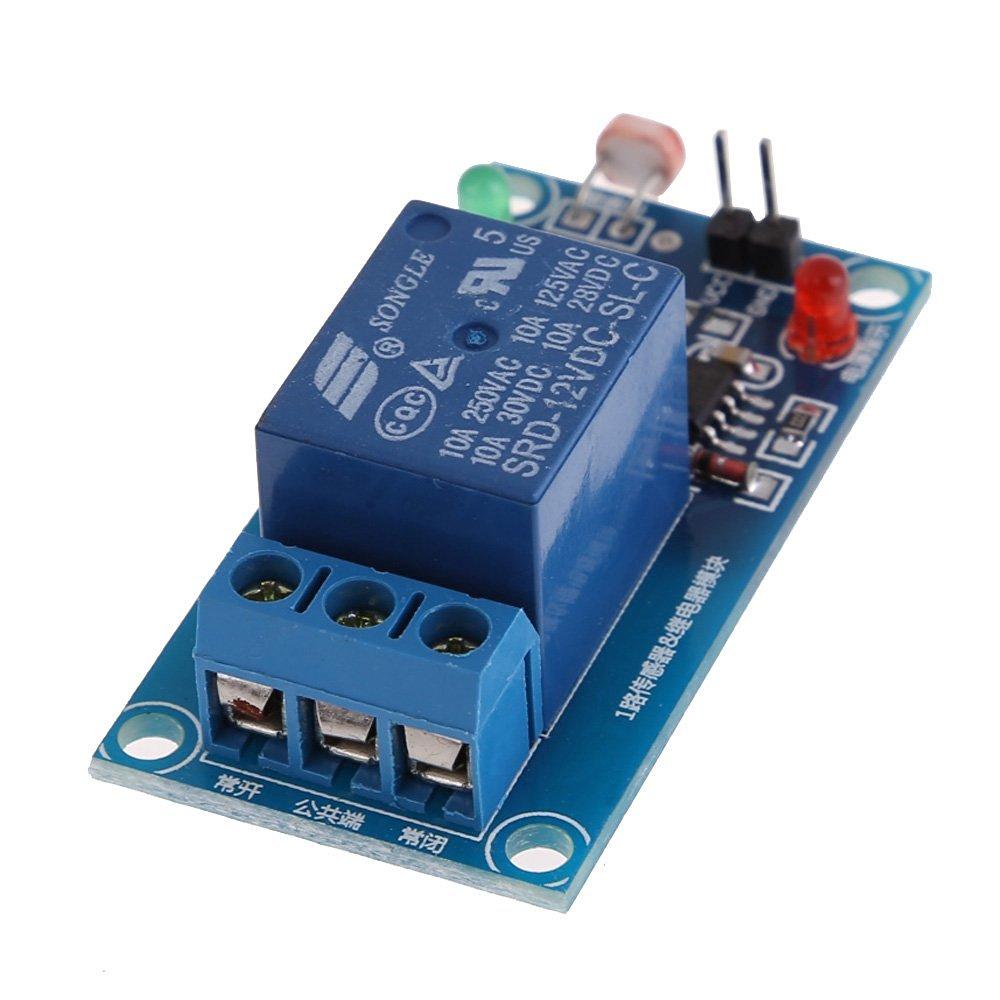 Ldr Circuit Light Sensor With Ldr Light