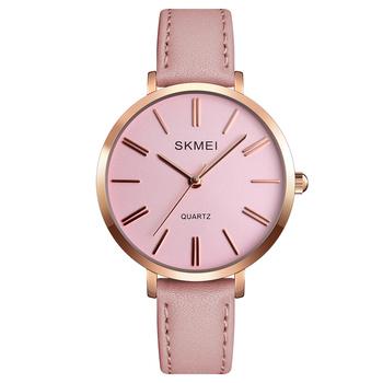 : SKMEI Reloj de pulsera para mujer con correa