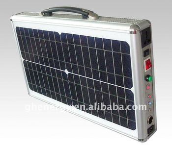 Portable Solar Panel Kit Of 20w Solar Suitcase Buy