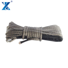 J-MAX 12 strand Super Tensile 12mm*30m UHMWPE braided synthetic winch rope for 4*4 off-road game