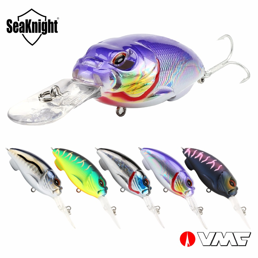 SeaKnight Crank <strong>Fishing</strong> Lure SK035 Hard Bait 5PC/Lot 13.5g 55mm VMC Hooks <strong>Fishing</strong> Lure Artificial Bait Crankbait <strong>Fishing</strong> Tackle