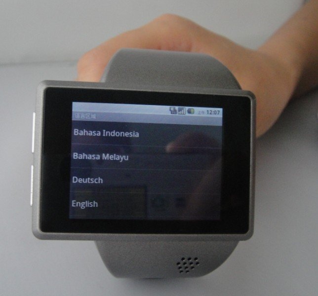 watch mobile phone with camera and bluetooth