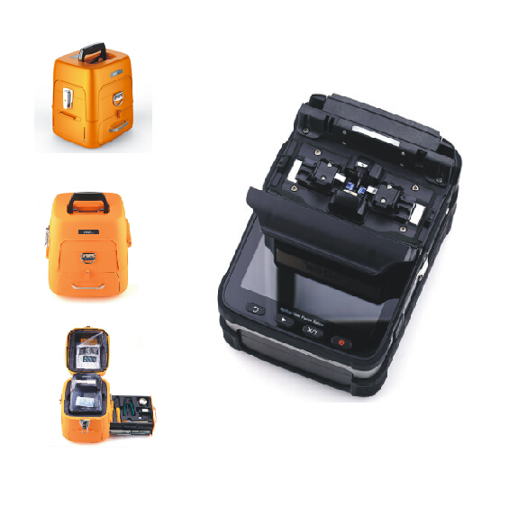 New designsanyo lithium battery AI-7 optical fiber fusion splicer fast charging creative design