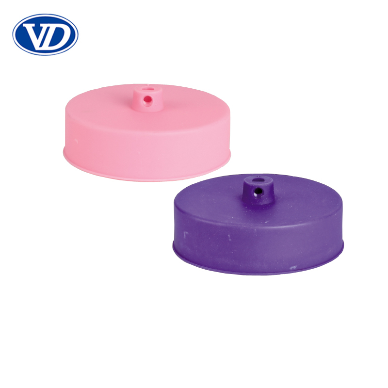 Pink and purple Ceiling rose plate for pendant light