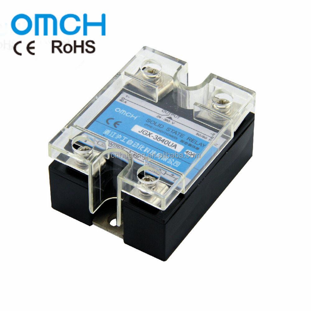 Single Phase Adjustable Voltage Regulator Ssr 12v Solid State Relay Buy Relayssr Relayadjustable Product