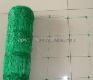 High quality Plastic Extruded polypropylene pp erosion control netting