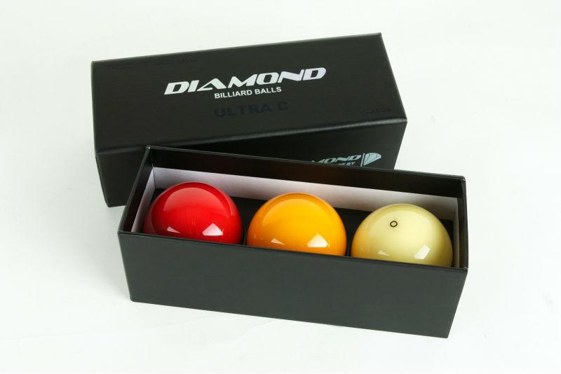 Diamond Carom Billiard Balls (phenolic)