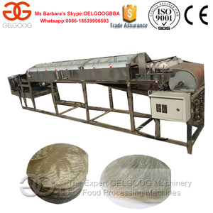 Bean Jelly Sheet Making Machine/Fenpi Making Machine/Sweet Potato Starch Sheet Maker Machine