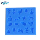 Hot sale baby items silicone mold for fondant cake ,candy,biscuit