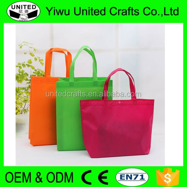Top Quality Promotion Non Woven Bag/ Nylon Resuable Shopping Bag