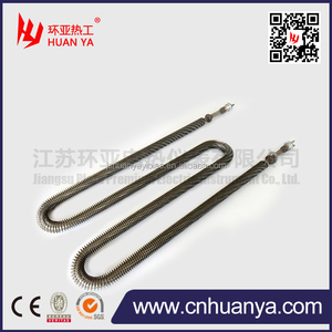 U type/W type heater Finned Tubular heating tube