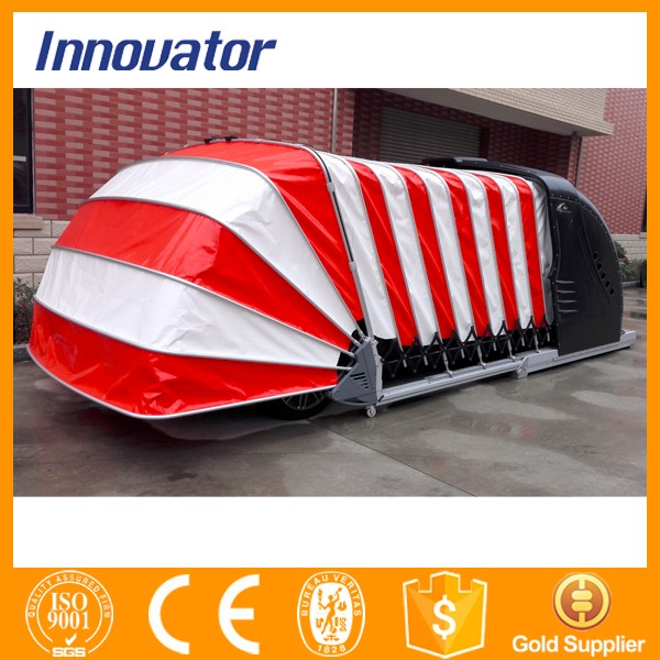 Automatic Solar Power Retractable Car Garage Portable ...